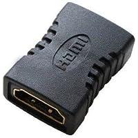 Empalme HDMI hembra Negro