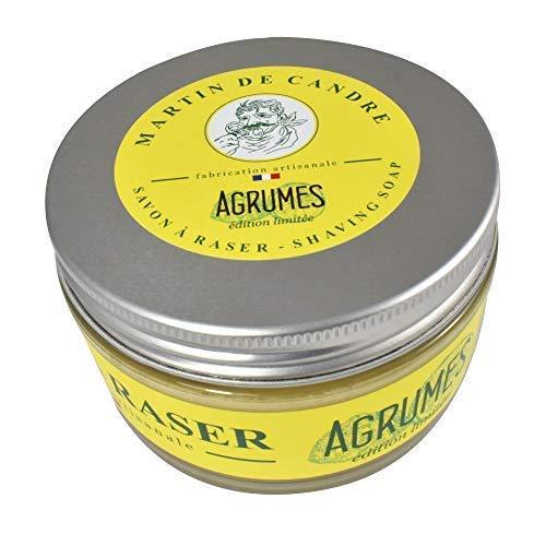 Martin De Candre Agrumes Rasierseife 200 G (Zitrusgewächs) - Harte Rasierseife