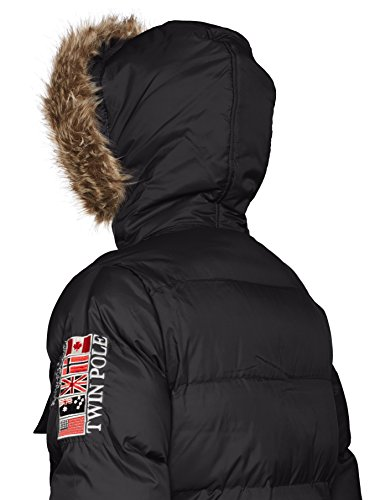 Geographical Norway Herren Steppjacke Baba marine 2XL Black (Schwarz)