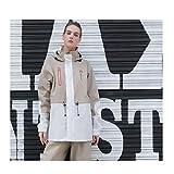 GRYY Imperméable pour Femmes, imperméable épais Pantalon de Pluie Split Suit Multi...