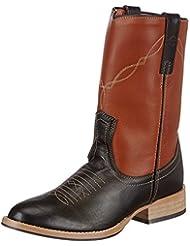 Covalliero Jim - Botas estilo western, diseño en dos colores