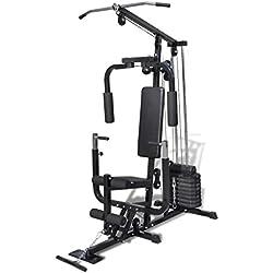 vidaXL Máquina de Fitness Multi Utensilio Gimnasio Estación de Entrenamiento