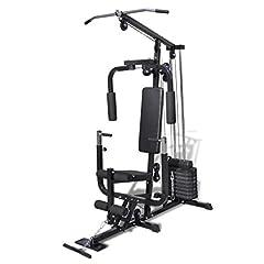 Idea Regalo - vidaXL Palestra panca multifunzione fitness pesi addominali muscoli allenamento