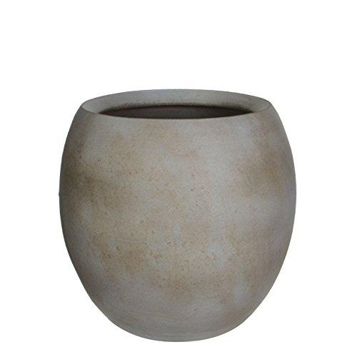Mica Decorations 240564 Pot Ronde Vera H30d30 Marron Cl Es24