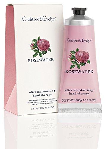 Crabtree & Evelyn Rosewater ultra-moisturizing hand therapy, 1er Pack (1 x 100 g) (Crabtree Evelyn Rosewater &)