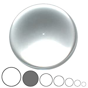 Balle de Contact Acrylique Transparente - 85mm