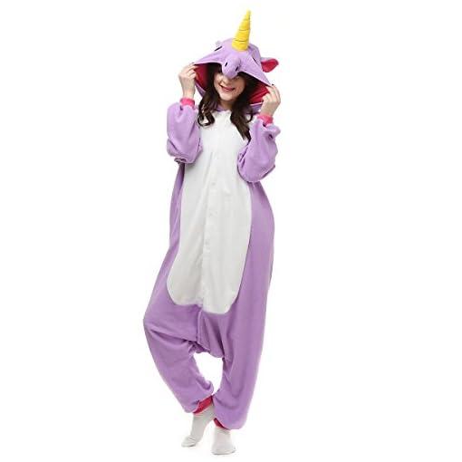 3eced6cd85 ... Licorne Pijamas Con Capucha Kigurumi Unisexo la Ropa de noche del Traje  del Anime de Cosplay Disfraz Homewear Lounge Sleepwear del Onesie. 48%. On  Sale