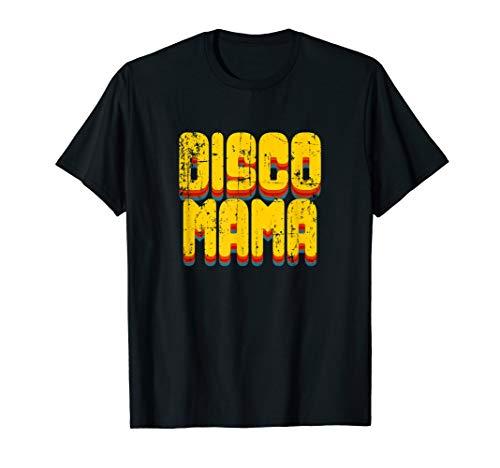 Disco Mama 1970er Jahre Disco Queen passende Paar T-Shirt (Der 1970er Jahre Halloween-kostüme)