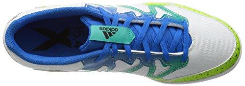 adidas X 15.4 St, Scarpe da Calcio Uomo, Talla Unica Multicolore (Varios colores (Blanco / Verde / Negro (Ftwbla / Seliso / Negbas)))