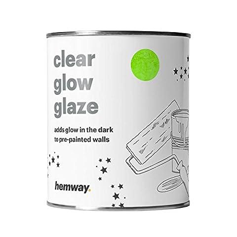 Hemway   Brille dans le noir Glaze 1L de peinture pour peindre les murs plafonds chambres
