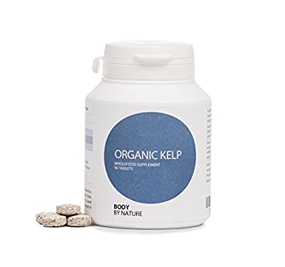 Organic Kelp 400 mg, 90 Tablets, Body by nature supplements, We send fast, because we know you want it FAST. from Body by nature supplements