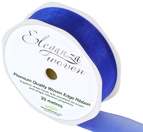 eleganza-25-mm-x-20-m-woven-edge-ribbon-royal-blue