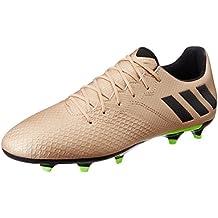 adidas Messi 16.3 FG - Botas de fútbol Línea Messi para Hombre, Bronce - (
