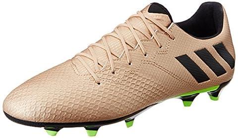 Adidas messi 16.3FG–Chaussures de football Messi ligne pour homme, Bronze–(cobmet/negbas/versol) 40
