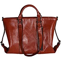 Donne PU borse a tracolla in pelle Messenger Bags Satchel