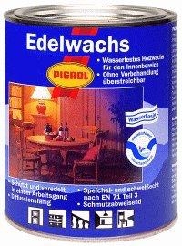 Pigrol Edelwachs 2,5L teakholz Wachs Holz Möbel Klarwachs Hartwachs Naturwachs innen