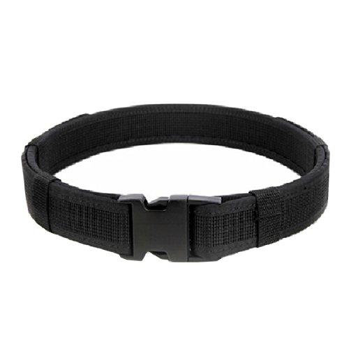 Andux Zone Security Nylon Canvas Uomo Tactical Belt/cintura militare CS/YD03 (black) - Web Cinghia Della Pistola