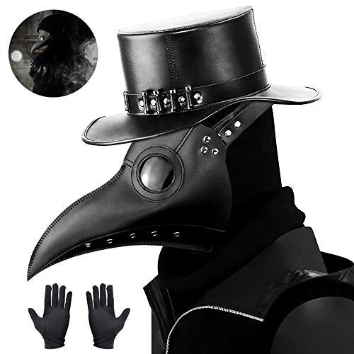 kungfu Mall 1 máscara de Doctor de Plaga y 2 Guantes de Fiesta...