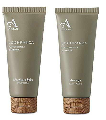 arran-lochranza-patschuli-and-anis-rasieren-gel-and-after-shave-balsam-set