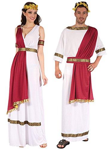 Couples Greek God and Goddess Costume Ser