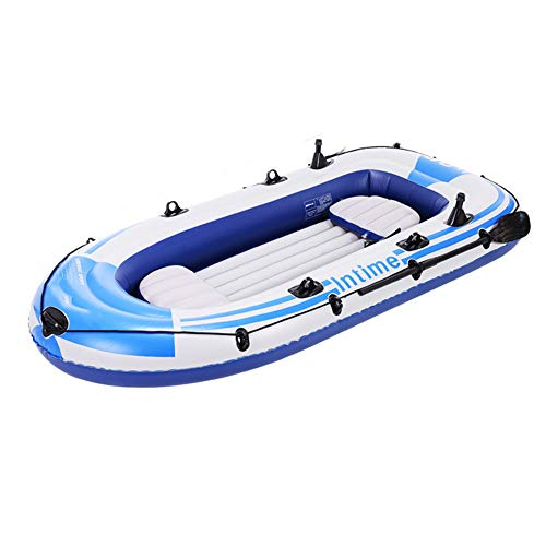 LJF Kajak-Schlauchboot Dickes, VerschleißFestes Fischerboot, Schnelles Kanu