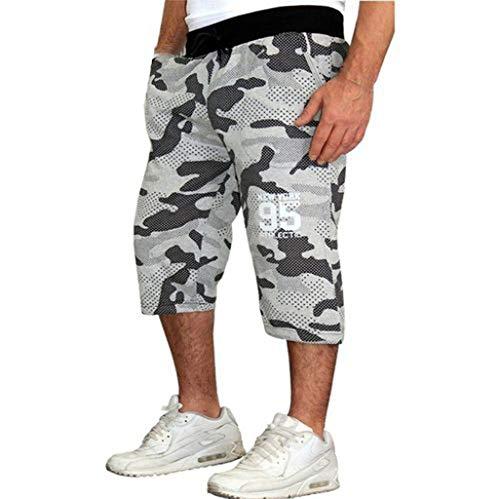 Dwevkeful Tarnhose Herren Cargo Hose Camouflage Jogginghose Mit Vielen Taschen Arbeitshose Freizeithose Vintage Airborne Trousers Outdoor