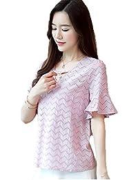 Amazonit Top Uncinetto 40 Bluse E Camicie T Shirt Top E