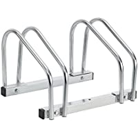 [neu.haus] Soporte para bicicletas - (Espacio para 2 bicicletas) - Para sujección en suelo