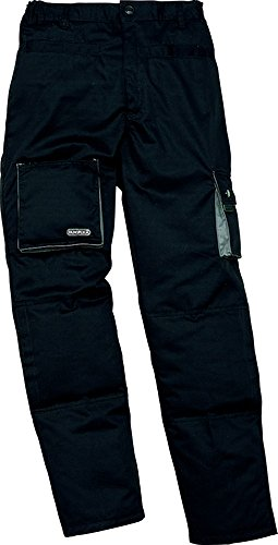 Mens Panoply Mach 2Pantaloni da uomo Zip Chiusura Workwear elasticizzato pantaloni Black XXX-Large