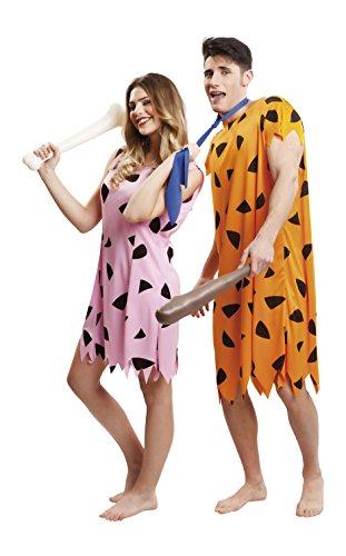 Imagen de my other me  disfraz de troglodita para mujer, m l, color rosa viving costumes 203518  alternativa