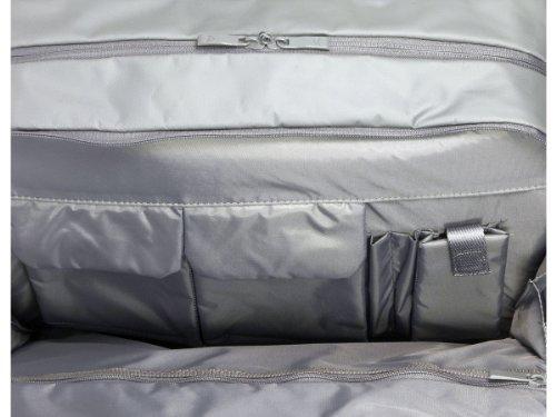Mandarina Duck Unisex Tasche 8AB02 Travel Bag Reisetasche Handgepäck Schultertasche Handtasche 52x38x15+5 cm (BxHxT) Titanium