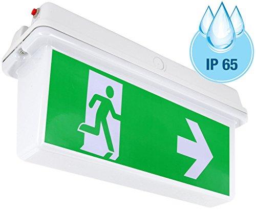 lampe-durgence-fuite-lampadaire-led-exit-ip65-incl-4direction-tiquettes-plafond