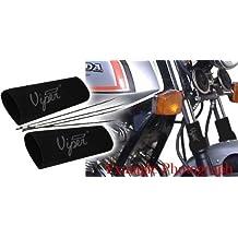 Kawasaki gpz750/ZX7501984–1988neopreno Tenedor Protección Moto Gaiters 850/16/