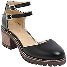 zapatos mary jane mujer tacon - Amazon.es