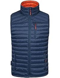 Mountain Warehouse Henry Mens Down Padded Gilet - Light Mens Jacket, Packaway Bag Vest, Water Resistant Rain Coat, Machine Washable Coat - for Summer Travelling