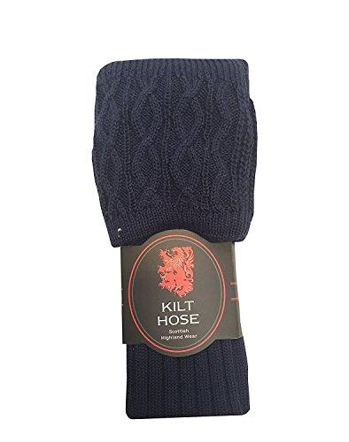 TARTAN TWEEDS Herren Socken Blau Navy (Tweed Navy)