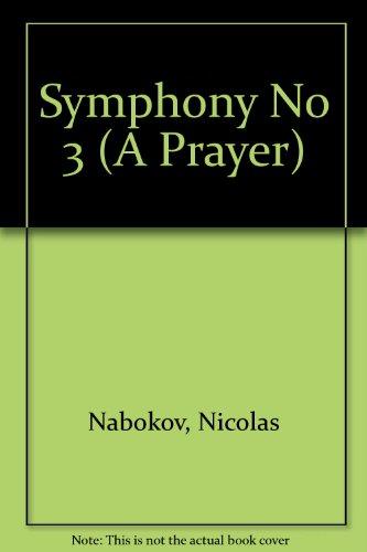 """Sinfonie Nr. 3: """"Ein Gebet"""". Orchester. Studienpartitur."""