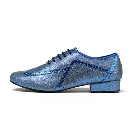 Minitoo ,  Herren Tanzschuhe Blue-2.5cm Heel