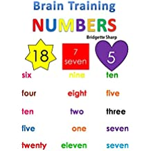 Brain Training NUMBERS (Kindergarten Readiness Book 3) (English Edition)