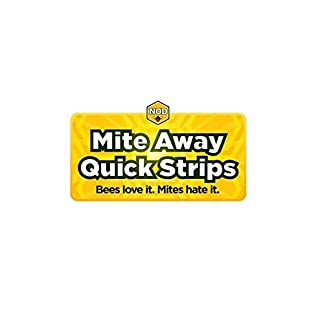 Bee Equipment Ltd MAQS Mite Away Quick Strips- Varroa treatment (10 dose pack) UK supply only, will not supply outside of the United Kingdom Bee Equipment Ltd MAQS Mite Away Quick Strips- Varroa treatment (10 dose pack) UK supply only, will not supply outside of the United Kingdom 41nFl 2B2cSHL