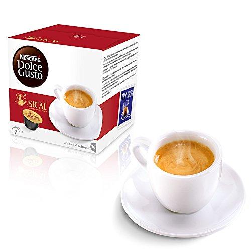 CIALDE CAPSULE DOLCE GUSTO NESCAFE' CAFFE TE' FREDDO CALDO (32, ESPRESSO) SICAL