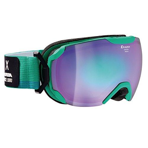 Alpina Skibrille, White,