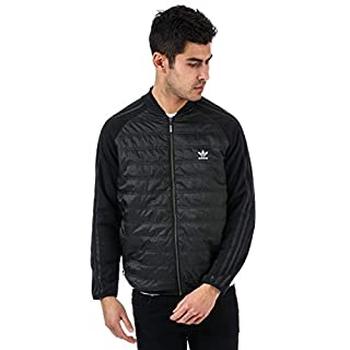 adidas Originals Mens Mens SST Thermal Jacket in Black - M