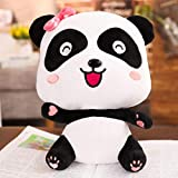 Hydz Lovely Baby Bus Panda Juguete de Peluche Animal de Peluche Muñeca Suave Cute Cartoon Soft Cushion Pillow Mejor Regalo para niños, niña, 32cm