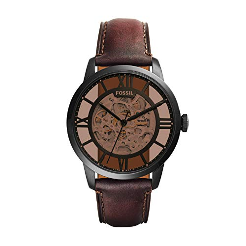 Fossil Analog Brown Dial Men's Watch - ME3098
