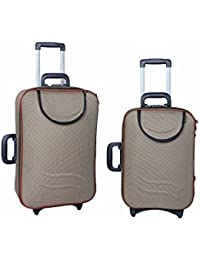 "UNIVERSAL TRAVELLER BAG-REPUTABLE SET OF 2 BAGS (BADGE) 24""+20"""