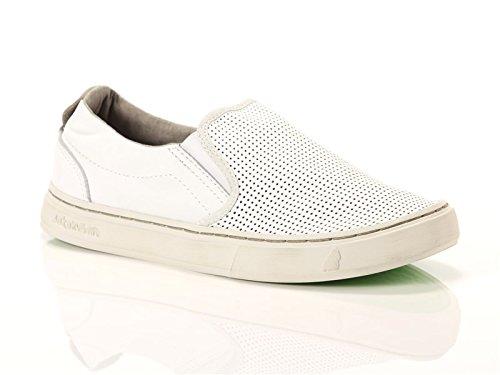 Satorisan, Donna, Soumei Napa Punch White, Pelle, Sneakers, Bianco, 40 EU