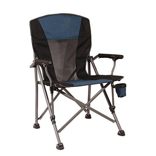 LJHA Klappstuhl Outdoor Portable Beach Chair Hocker Angeln Stuhl Freizeit Stuhl Tabelle 4 Farben Optional 95 * 58 cm Stühle (Farbe : B)