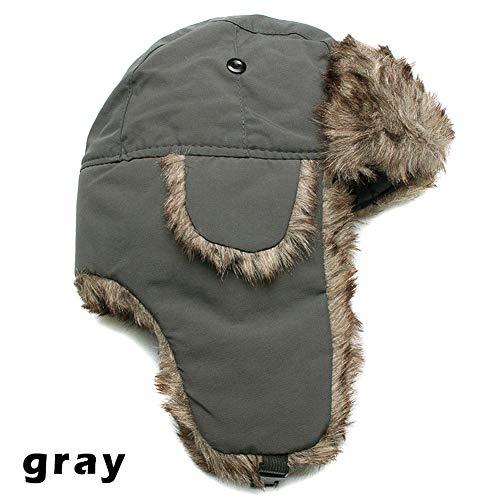 Alextry Winter Trapper « Aviator » Trooper Earflap cálido Ruso Gorro de  esquí Piel Ushanka Hat ab502df3caa