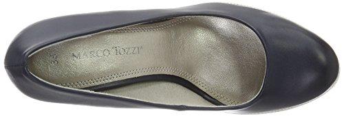 Marco Tozzi 22412, Scarpe con Tacco Donna Blu (Navy Antic 892)